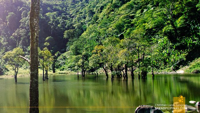 A Mini Lake, the Kabalin-an Pond, at the Twin Lakes of Balinsasayao