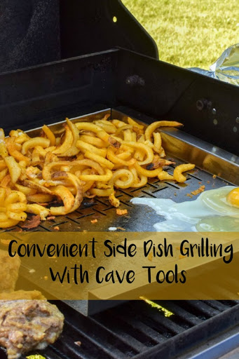 Convenient Side Dish Grilling With Cave Tools