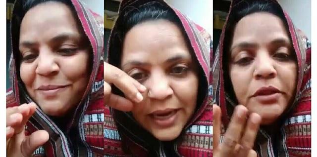यह दादी कौन है जो स्वर्ग में मास्क के वीडियो के साथ व्हाट्सएप पर वायरल हो रही है।  जानिए उनकी हकीकत