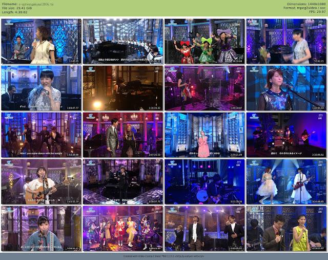 [TV-Variety] スカパー! 音楽祭2016 (TS/29.4GB)