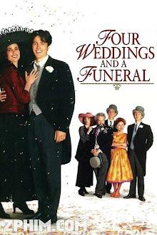 Bốn Đám Cưới Và Một Đám Ma - Four Weddings and a Funeral (1994) Poster