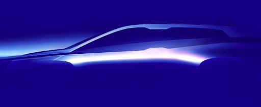 BMW chairman, Harald Krüger revealed this sketch of the brand's iNext due in 2021. Picture: BMW