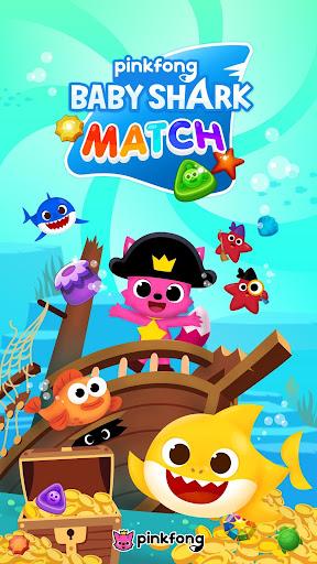 Baby Shark Match: Ocean Jam  captures d'écran 1