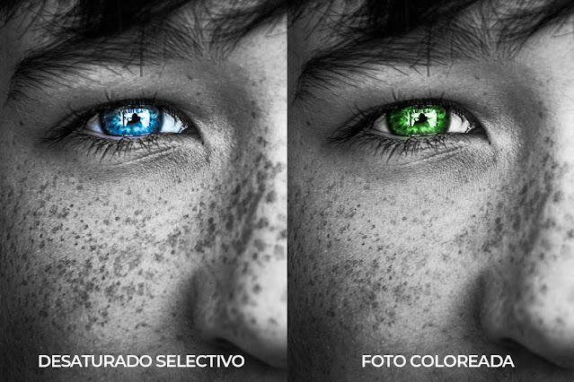 foto coloreada