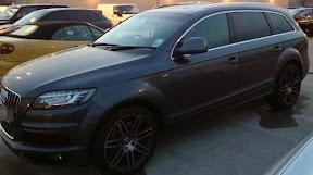 Seized Audi Q7