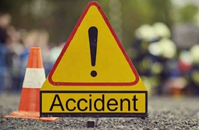 Fuel Tanker Collides With 'Trotro' On Tema Motorway