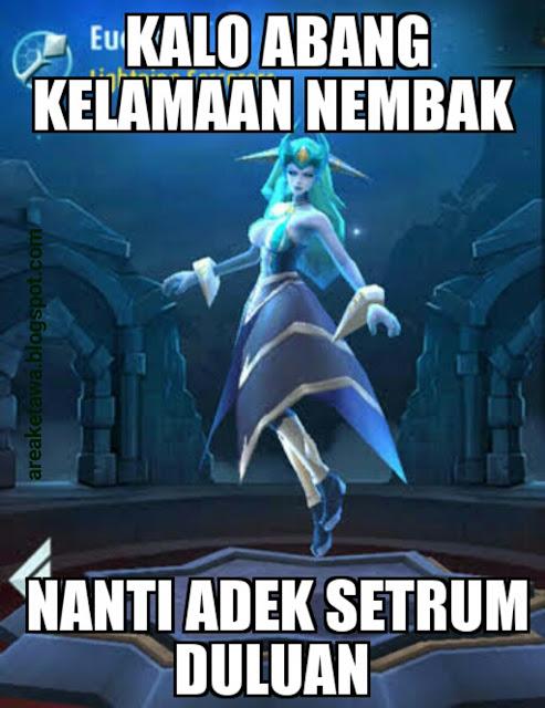 8 Meme lucu Eudora Mobile Legends  Area Ketawa