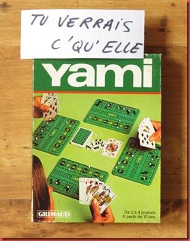 Yami Papiers ludiques