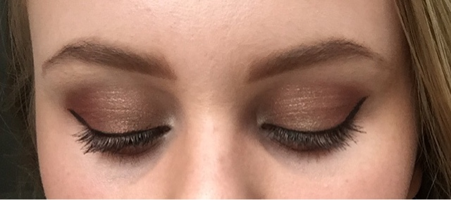Copper and Khaki Eye Look; Super Simple