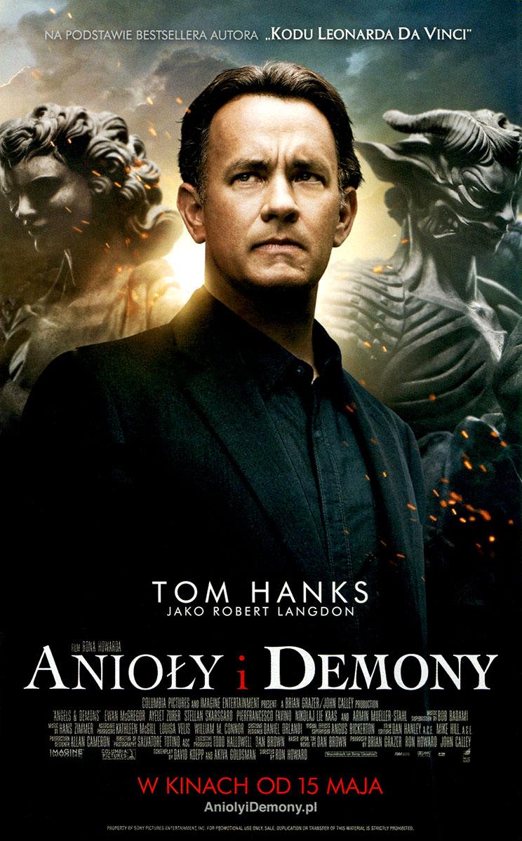 Ulotka filmu 'Anioły i Demony (przód)'