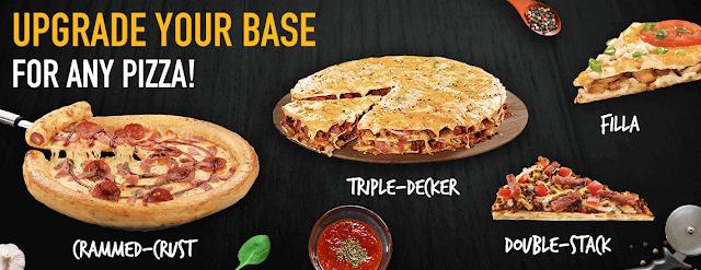 Upgrade Your pizza in Dubai