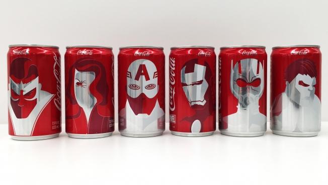 Marvel y Coca-Cola hacen mancuerna en un spot para el Super Bowl, incluye rediseños en algunas de sus latas