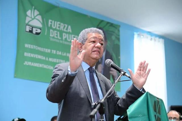 """Leonel: """"Hablar de una reforma constitucional absolutamente innecesaria es una forma de distracción"""""""