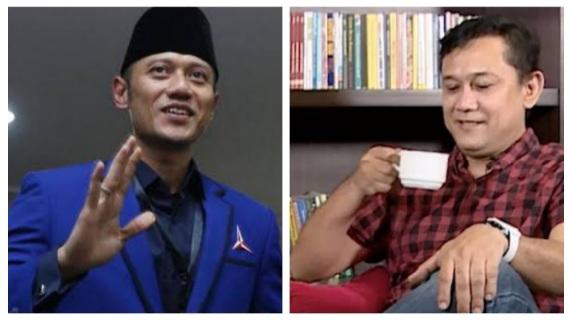 Denny Siregar Bersyukur Pemerintah Tak Turuti Saran AHY untuk Lockdown: Anak Manja Kok Sok Ngatur Negara..