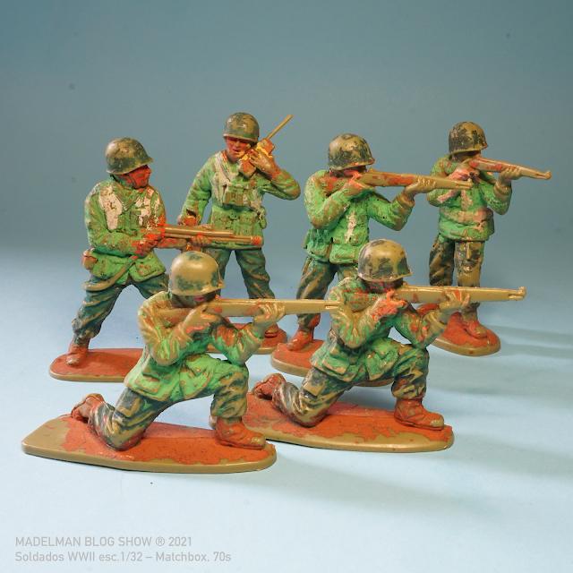 Soldados 1/32 de Matchbox