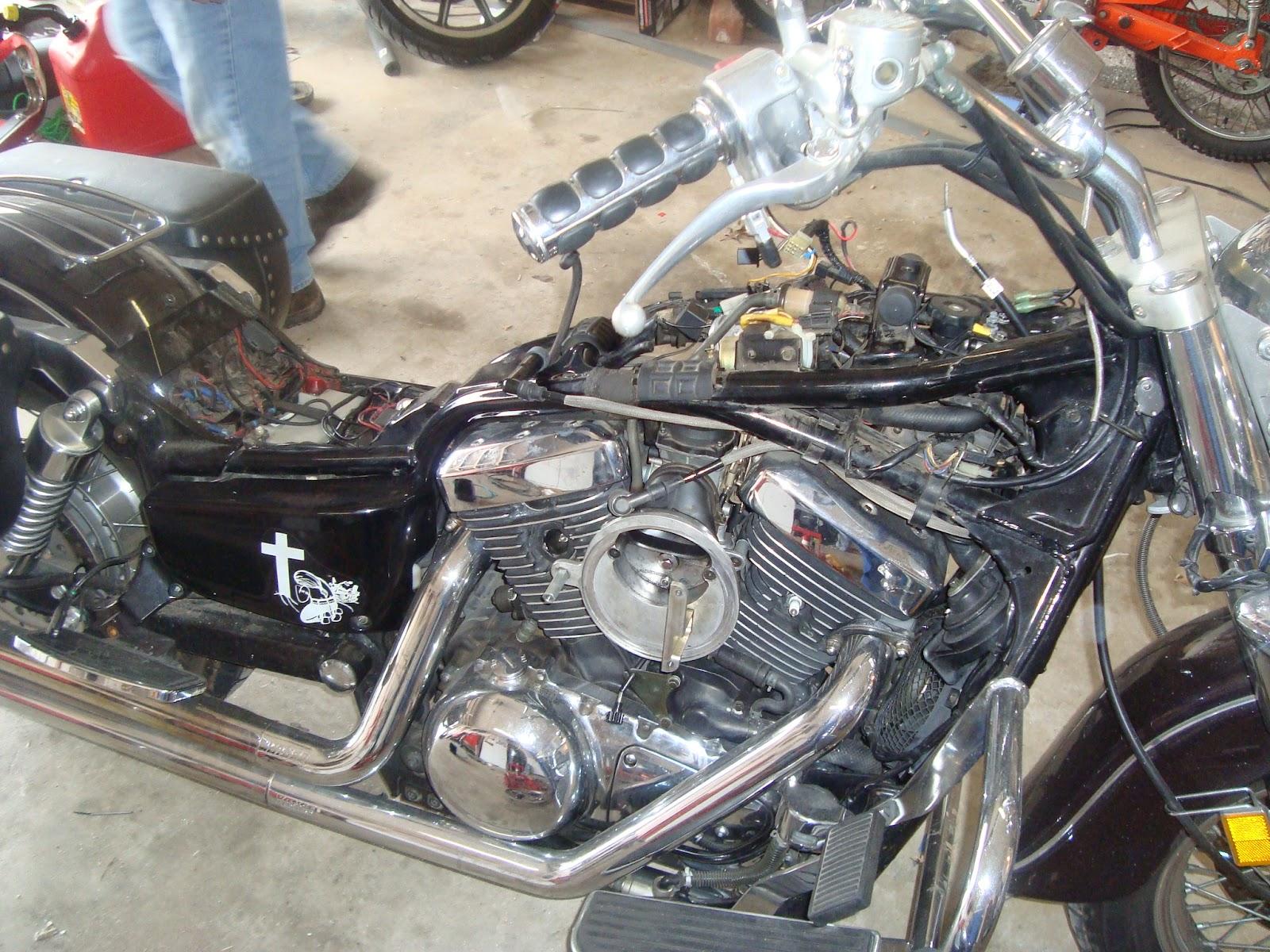 Kawasaki Vn Starter Clutch Inspection