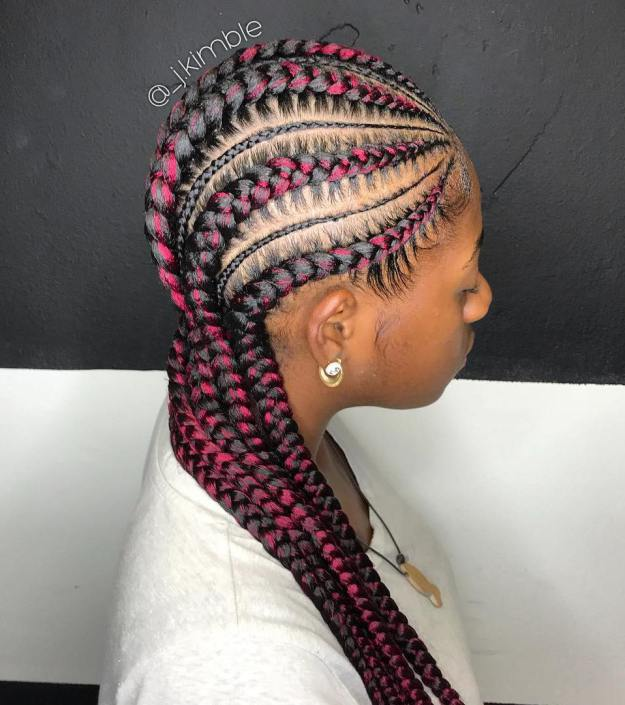 Cornrow Female Styles 2018 2019 Cornrow Hairstyles