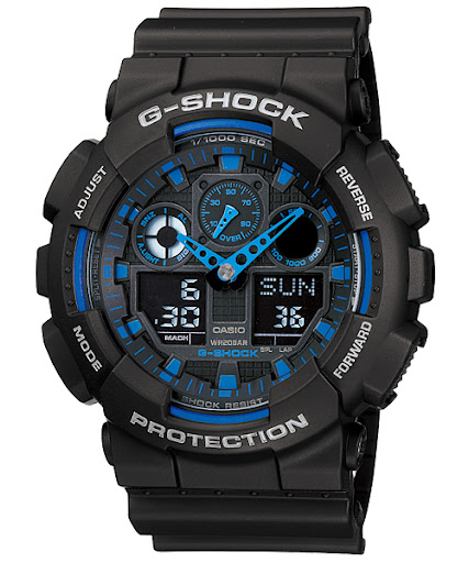 Jual Jam Tangan Casio G Shock   GA-100  b6aa7dd167