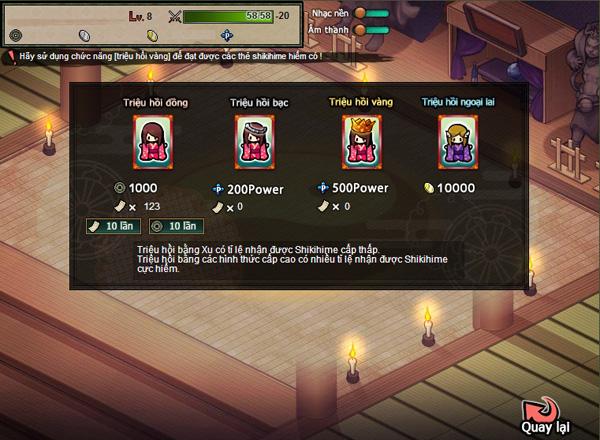 Soi webgame Hime Garden trước ngày ra mắt 1