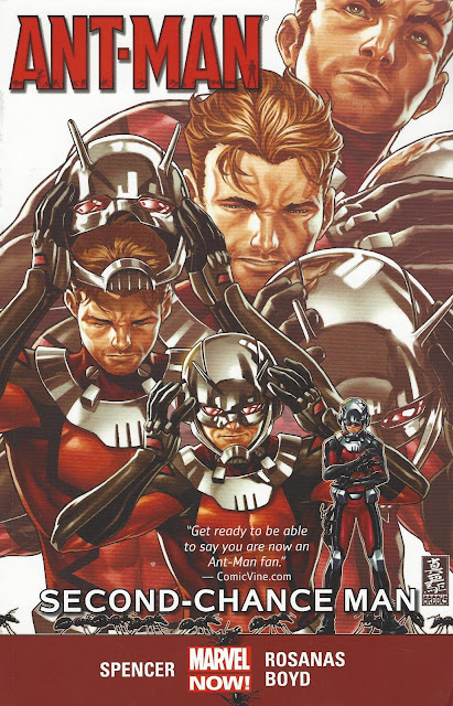 Ant-Man, v. 1: Second-Chance Man cover