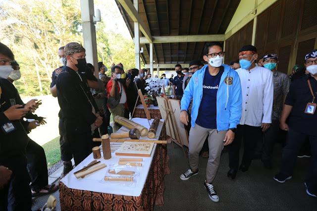 Kementerian Pariwisata dan Ekonomi Kreatif Gelar Anugrah Desa Wisata 2021