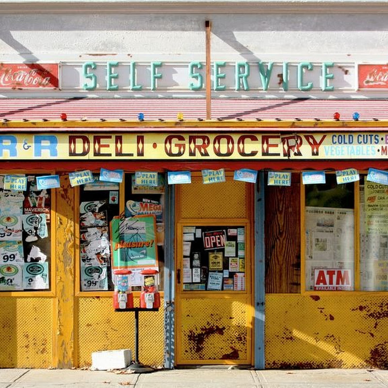 Randy Hage's Miniature Models of New York City Storefronts