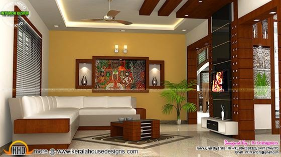Kerala interior design with cost kerala home design and Low cost interior design for homes in kerala