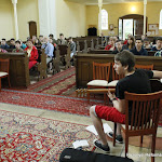 Debreceni iskolások látogatása a templomunkban_2015