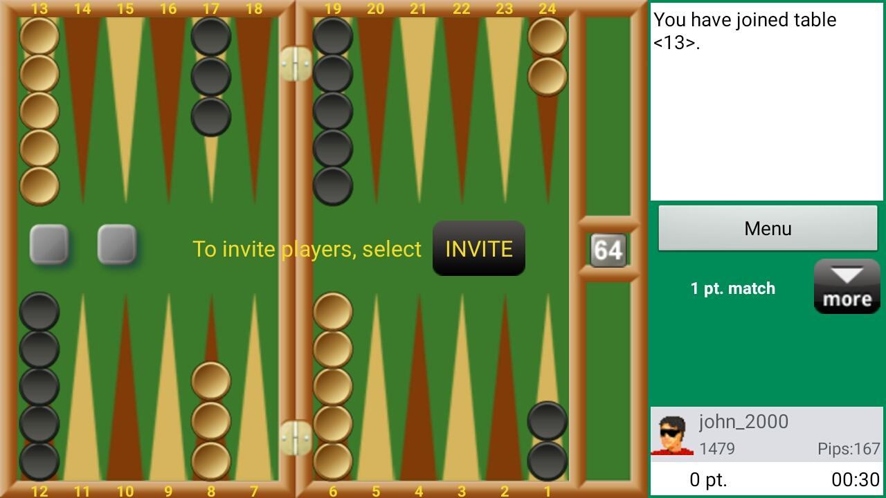 Backgammon - Real Players- screenshot