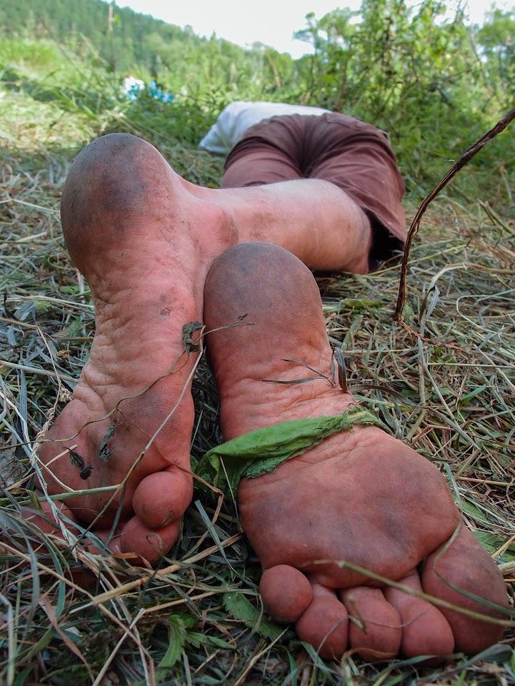 Удивительные ноги Юрки (Космофест 2013)