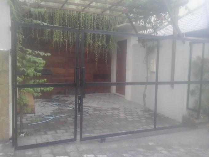 Jual Pintu Gerbang Rumah/Villa/Gudang