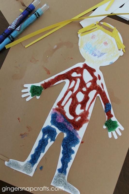 body kid #craft