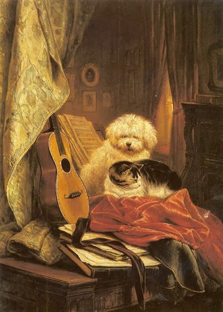 Henriette Ronner-Knip - Best Friends