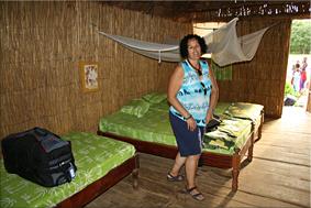 Interior Cabaña - Campement de Faoye