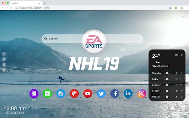NHL Ice Hockey 19 HD Games New Tabs Topics