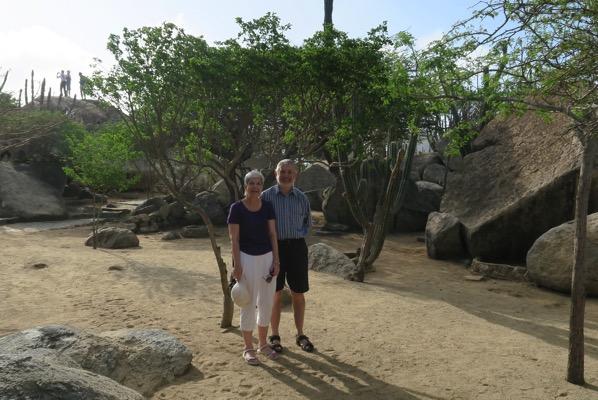 Travellers on Aruba