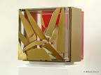Tabernakel, Acrylglas, Messing, 2003