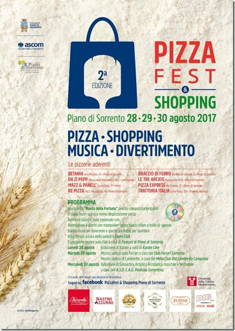 Locandina_Pizzafest_e_Shopping_2017_Piano_di_Sorrento