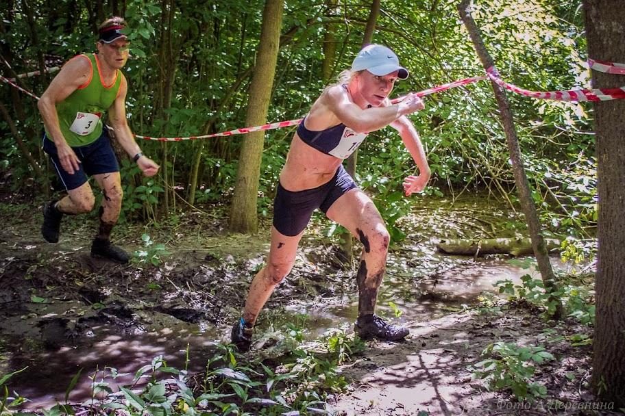 Ольга Донченко - победитель Kharkiv Trail 2016