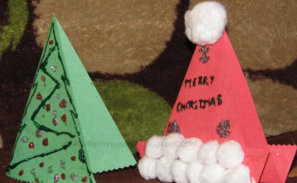 Christmas Trees and Santa Hat