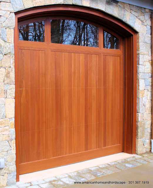 clopay garage doors Bethesda, md.  These garage doors are installed on a brick faced 2 story home in Bethesda, MD.