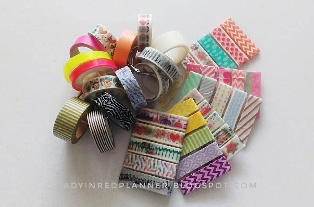Washi tapes holder