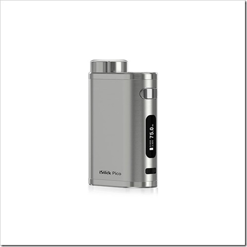 pre order authentic eleaf istick pico tc vw variable wattage box mod brushed silver aluminum alloy 175w 1 x 18650 thumb%25255B3%25255D - 【DIY】Eleaf iStick Picoに自作レザーカバーをつけてみた【もらいもの】