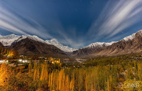 Moonlit Night, Hunza Valley