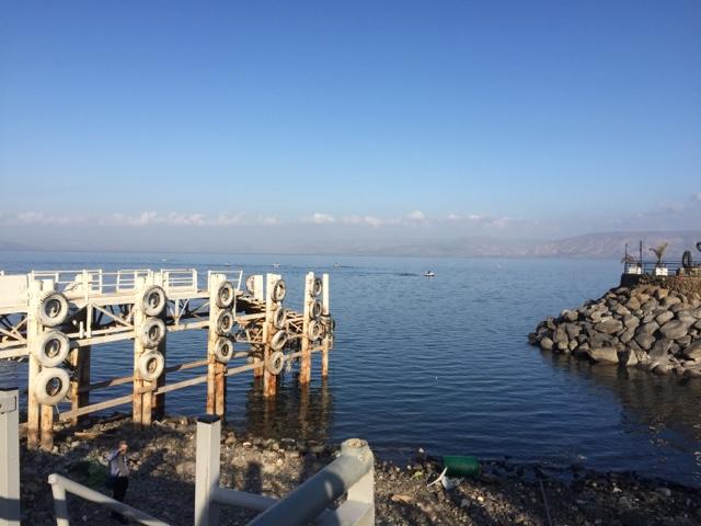 Lac de Tibériade Israël