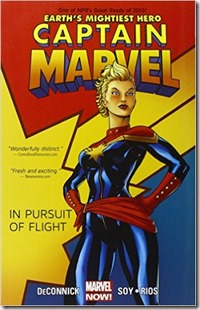 captain marvel in pursuit of flight volume one