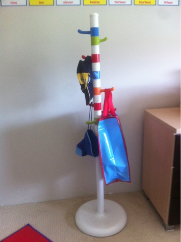 Almost Organised Children S Coat Stand