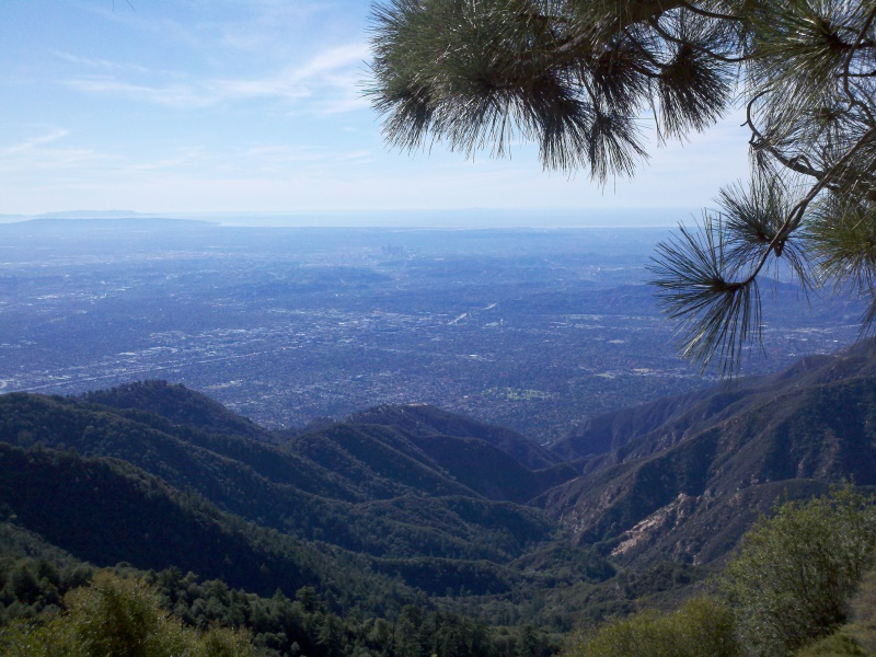 Mount Wilson • View of Los Angeles