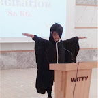 Poetry Recitation of Sr. Kg. at Witty World, Chikoowadi 2017-18