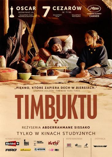 Przód ulotki filmu 'Timbuktu'